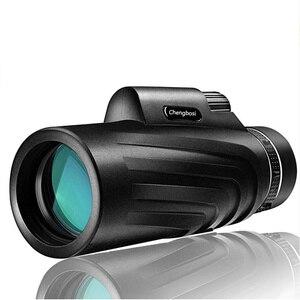 Image 2 - 50x52 Zoom Monoculaire Telescoop Scope voor Smartphone Camera Camping Wandelen Vissen met Kompas Telefoon Clip Statief Gift