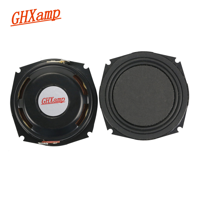 GHXAMP 2.25 Inch 8OHM 5W Full Range Neodymium Plane Speaker Ultra thin DIY Music Column Speaker 1Pairs