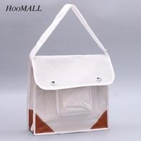 Hoomall Electric Tool Kit Thick White Canvas Tool Bag Multi Purpose Plumbing Maintenance Electrican Tool Bag