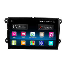 RM-VWTY91 Android 5.1 2DIN Coche Radio Estéreo Reproductor GPS 1G DDR3 16G de Memoria NAND Flash para VW Passat Golf Jetta MK5 MK6 T5 EOS