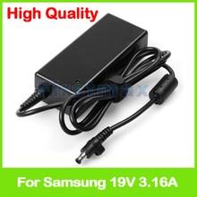 19 v 3.16A AC power Adapter AD 6019 Cho Máy Tính Xách Tay Samsung Sạc ATIV Book NP270E5E NP300E5A NP300E5C NP355V5C NP3445VX NP350E5C
