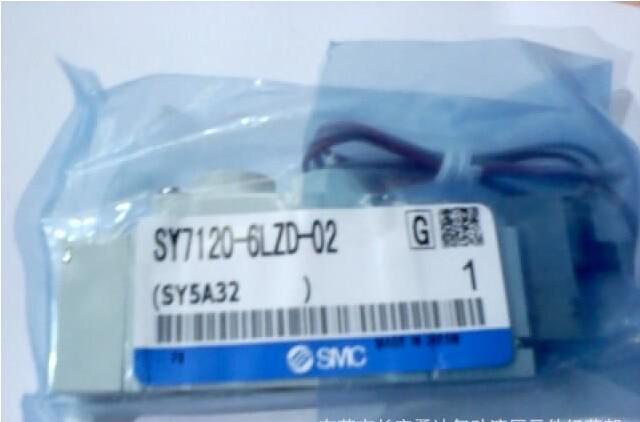 BRAND NEW JAPAN SMC GENUINE VALVE SY7120-6LZD-02 smc manual valve vh202 02 a special spot genuine original