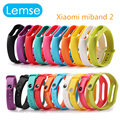 10 Colors Xiaomi mi band Strap silicone Wearable mi band 2 Xiaomi Miband Bracelet Wrist belt  for xiaomi Wrist Band