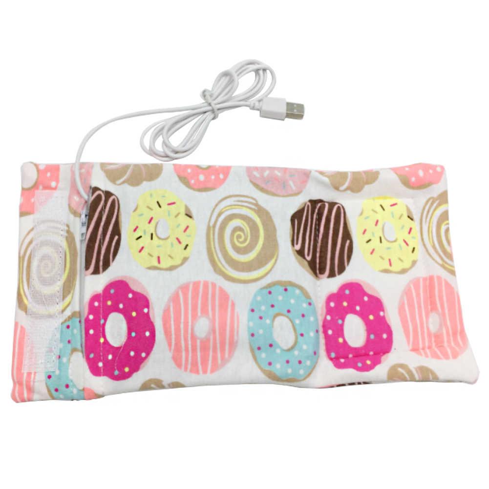 Fashion Portable USB Baby Milk Bottle Warmer Heater Coffee Tea Mug Beverage Warming Bag