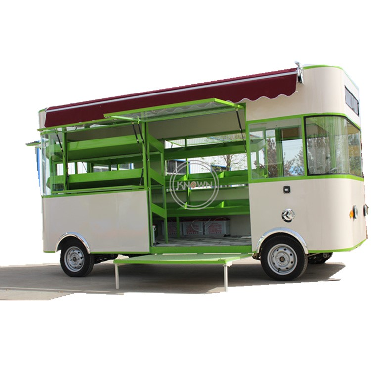 Best Seller Fruit And Vegetable Tram Customized Food Cart Food Truck