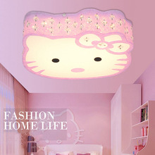 2017 Newest Hello Kitty font b Cat b font LED Ceiling Lights Fixture Cute Girls Bedroom
