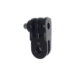 Image 4 - Kaliou uniwersalny długi/krótki prosto wspólne uchwyt adaptera zestaw adaptera dla GoPro 6 5 4 3 + 3 2 1 aparat działań sportowych akcesoria