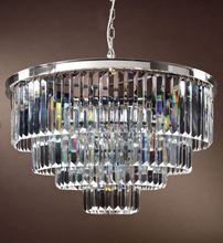 2019 k9 Crystal Pendant circular Electroplate polishing luxury Chandeliers Nordic simplicity bar light 110-240V