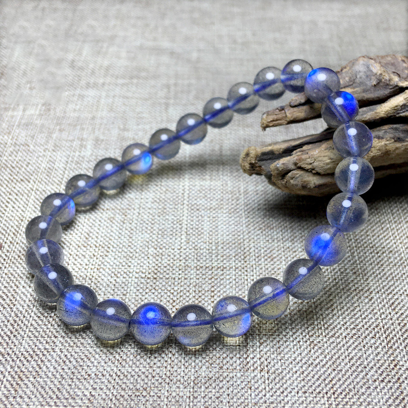 Moonstone Bracelet Female Ice Blue Moonlight Bracelet Crystal Jewelry to Send His Girlfriend