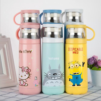 Cartoon Thermos Stainless Steel Vacuum Flask Cup For Kid S Gift Steel Insulated Thermos Cup Coffee