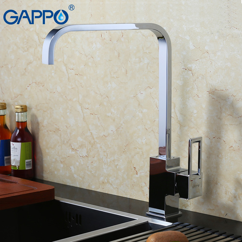 GAPPO kitchen sink faucet Water mixer tap kitchen mixer faucet kitchen taps mixer single hole water bronze kitchen faucet GA4040 swanstone dual mount composite 33x22x10 1 hole single bowl kitchen sink in tahiti ivory tahiti ivory