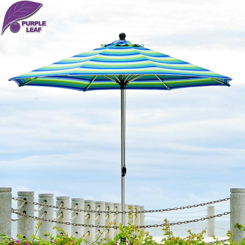 Purple leaf outdoor patio patio umbrella balcony for Patio table umbrella 6 foot