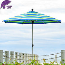 Purple Leaf Outdoor patio umbrella  balcony parasol garden sombrilla de playa  9.84ft Market  Table Cafe Beach Round non base