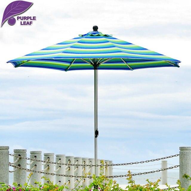 Purple Leaf Outdoor patio umbrella  balcony parasol garden sombrilla de playa  9.84ft Market  Table Cafe Beach Round non base