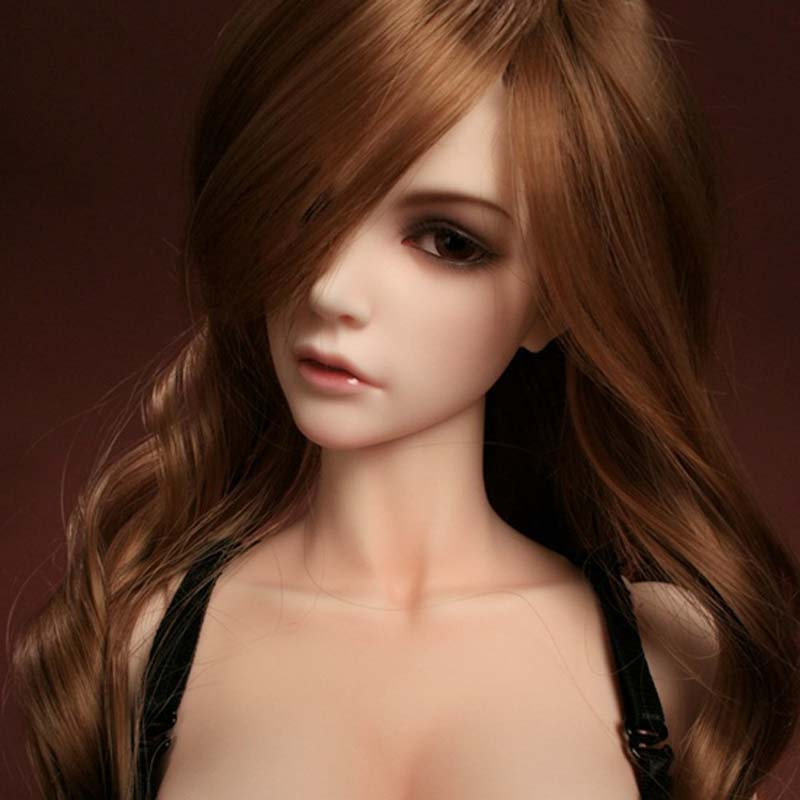 2018 New Arrival 1/3 BJD Doll BJD/SD Fashion Style Jessicas Resin Joint Doll For Baby Girl Gift With Eyes