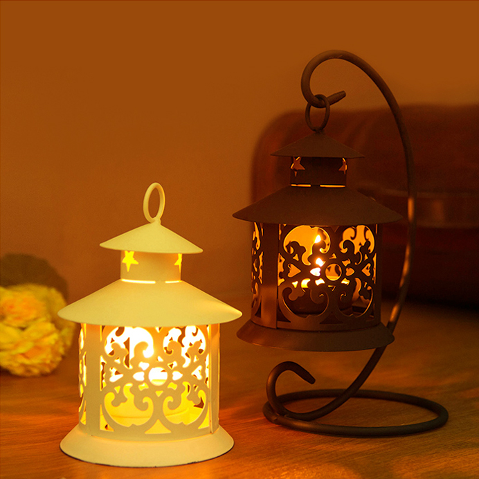 Iron Moroccan Style Candlestick Candleholder Candle Tea ...