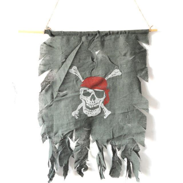 halloween activiteiten lastig speelgoed piraat vlag vlag deur gordijn ghost vlag
