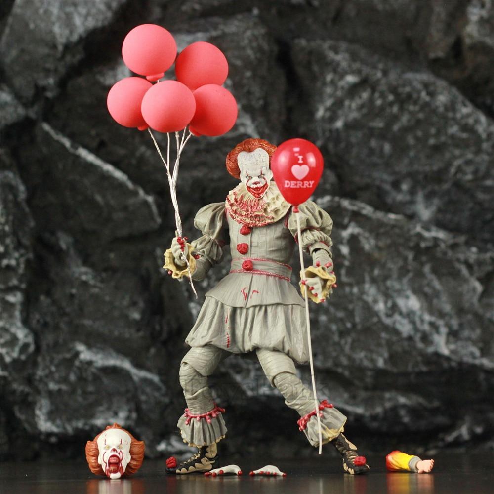 """Figurine d'action de KO NECA 7 """"édition sanglante le dernier avant-midi SDCC 2018 chapitre du film Gamestop jouets de poupée exclusifs"""