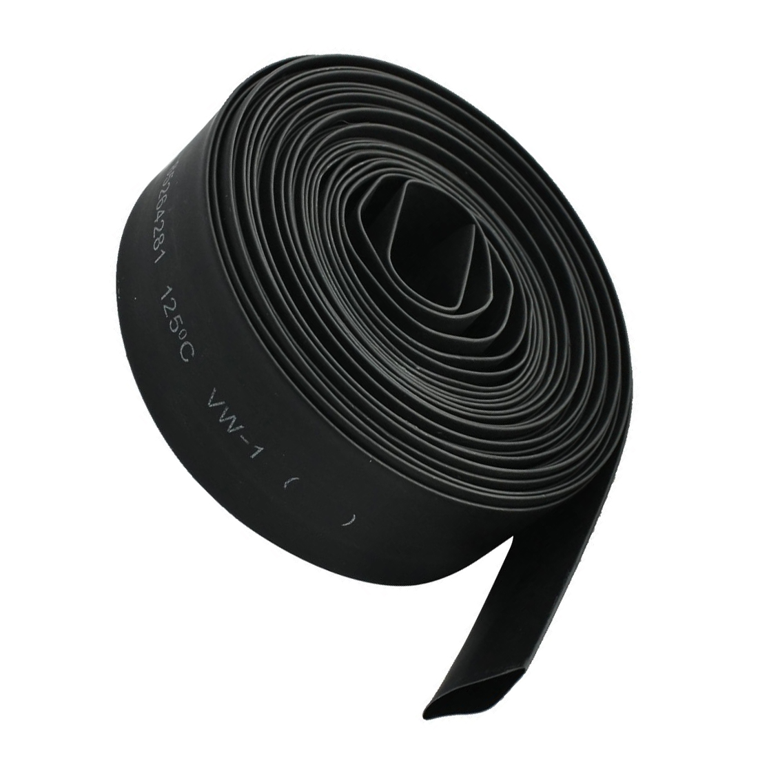 KSOL 2mm/6M 15mm/5M 30mm/1M 70mm/1M 8mm/5M 5mm/6M 12mm/10M 2:1 Black Polyolefin Insulation Heat Shrink Tubing цены
