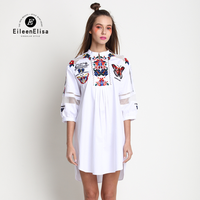 2b922458694 White shirt dress brand shirt dress vintage lantern sleeve dress jpg  640x640 Shirt dresses 2017