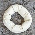 1 Pc New Bonito 4 PC Enchimento Cesta Donut de Trigo Posando Adereços Fotografia de Recém-nascidos Do Bebê Travesseiro