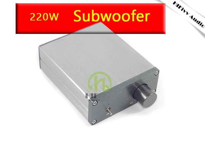 Hifivv аудио усилитель сабвуфера TDA7498E Цифровые усилители мощности 24 В/6A сабвуфер Версия 1.0 канальный звук супер усилитель