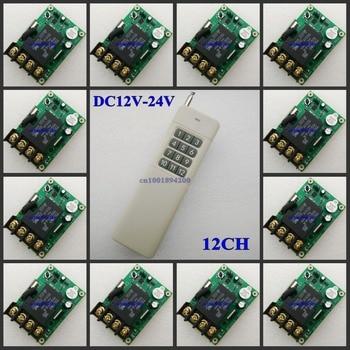 DC12V-24V Wide Working Voltage Remote Switch 13V 14V 15V 16V 18V 24V 30A Relay Light LED Bulb Motor Wireless ON OFF Smart Switch