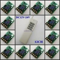 DC12V 24V Wide Working Voltage Remote Switch 13V 14V 15V 16V 18V 24V 30A Relay Light LED Bulb Motor Wireless ON OFF Smart Switch