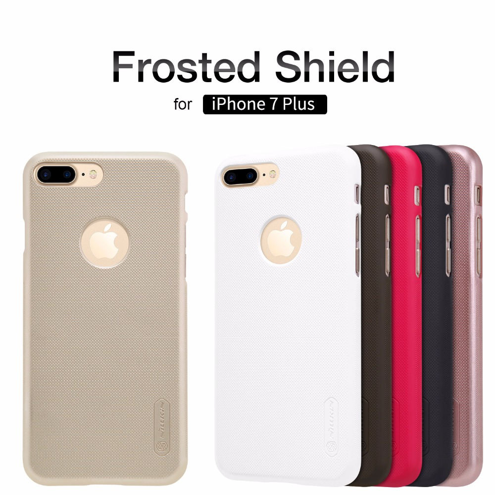 Original Nillkin Super Frosted Shield Hard Back PC Cover Case for iPhone 7 Plus Phone Case + Screen Protector