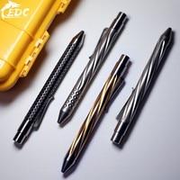 A120 New product full lineTC4 titanium tactical pen NOTTINGHAM defense pen high end pressing pen with EDC