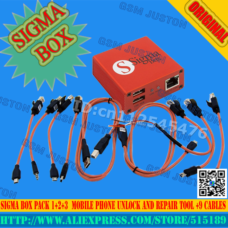 imágenes para Sigma caja + Pack $ Number + Pack2 + Pack3 Actived Para Huawei