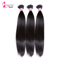 Brazilian Straight Hair 1 Bundle Ms Cat Hair Products 100 Human Hair Bundles Natural Color Soft