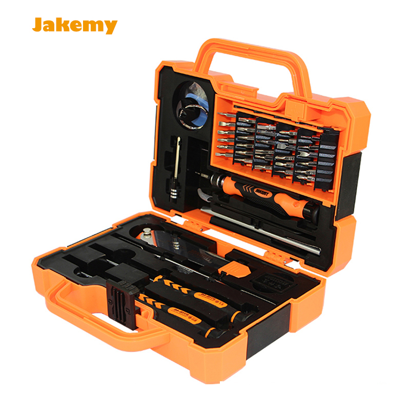 High quality Professional Multi Tools 45 in 1 Kit Hand Opening Repair Tool Kit Screwdrivers Set For iPhone Sumsang Free Shipping high quality 53in1 multi bit repair tools torx screwdrivers kit set for electronics pc laptop ver54