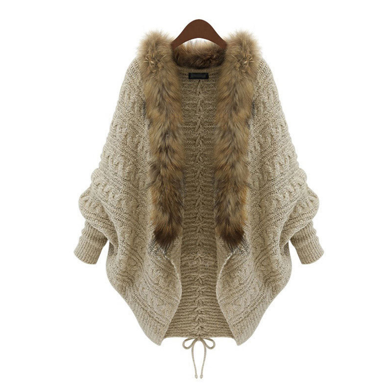 Plus Size Pregnant Woman Plush Jacket Coat Women Autumn Winter Knitting Warm Thick Coat Female Casual Overcoat Maternity Wear in Coats from Mother Kids