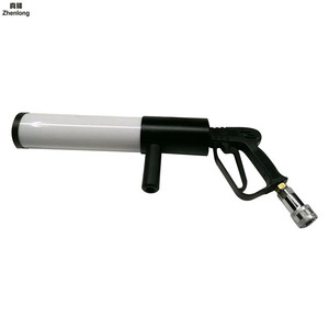 Image 4 - Pistola Co2 Arma Mitraillette Bar Co2 Gun Podium Licht Pistool Co2 Led Rgb voor Bruiloft Disco Dj Jet Pistool mini Led Lucht Softgun
