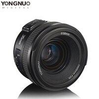 YONGNUO 35mm Lens YN35mm F2.0 AF/MF Fixed Focus F1.8 AF/EF Lens for Canon Nikon F Mount D3200 D3400 D3100 D7100 for DLSR Camera