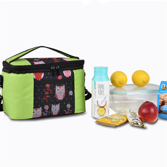 Cooler Picnic Bag Camping Bag Hiking Lunch Bag Oxford Insulated Thermal Camping Picnic Cooler Bag