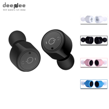 DEEPDEE Mini Bluetooth Headset Sport Earphone For Mobilephone Gaming Headset For Computer Super Bass Handsfree Beatsstudio