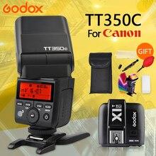 GODOX TT350 C for Canon camera 2.4G HSS 1/8000s TTL GN36 Fla