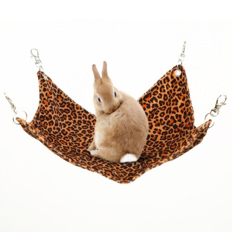 font b Pet b font Hammock Hamster Hang Mat Guinea Pig Chinchilla Rabbit Cage For