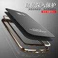 Для Samsung Galaxy S7 Case S7 Край Case Оригинальный Luphie Металлический Каркас + закаленное Стекло Задней Стороны Обложки Для Samsung Galaxy S7/S7 Edge