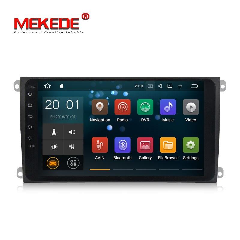 Nuovo Arrivo! MEKEDE RK3188 9 pollici Full Touch screen Android 8.1 Car Multimedia GPS Per Auto lettore DVD per Porsche Cayenne 2003- 2010