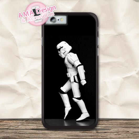 Stromtrooper Moon Walk Funny Protective Case For iPhone X 8 7 6 6s Plus 5 5s SE 5c 4 4s  ...