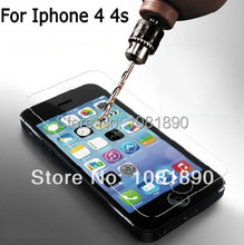 Anti explosion Tempered Glass Screen Protector Film 0 2mm 2 5D 9H For Iphone 4 4s