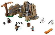 LEPIN Star Wars 7 Battle on Takodana Figure Toys building blocks set marvel minifigures compatible with legoe