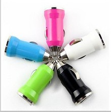 1PC USB Car Charger Power Adapter 5V For Mobile Phones Tablet PC For Iphone For Samsung