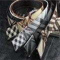 Absoluta arte Faux la correa de cuero de lujo marca hombres cinturón cinturones alta calidad para hombre y cinturones de diseño hombres de la alta calidad
