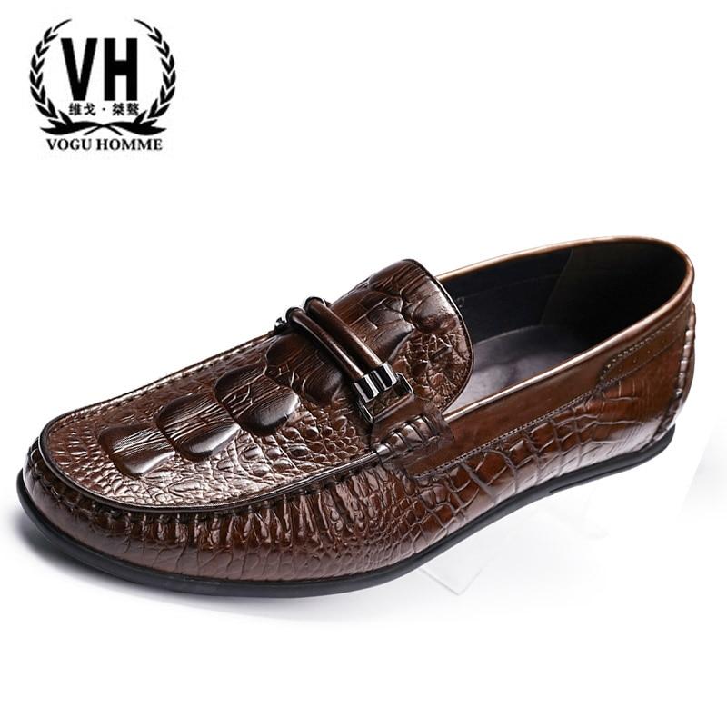 Lok Fu shoes Europe sets foot pedal fashion casual shoes men's shoes leather shoes Doug England микрофонная стойка quik lok a344 bk