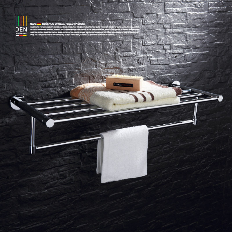 All copper bathroom shelf double towel bath towel rack Bathroom sanitary ware extended towel lever hardware accessories batroom golden crystal double cup holder bathroom double cup rack holder hardware bath sets bathroom accessories