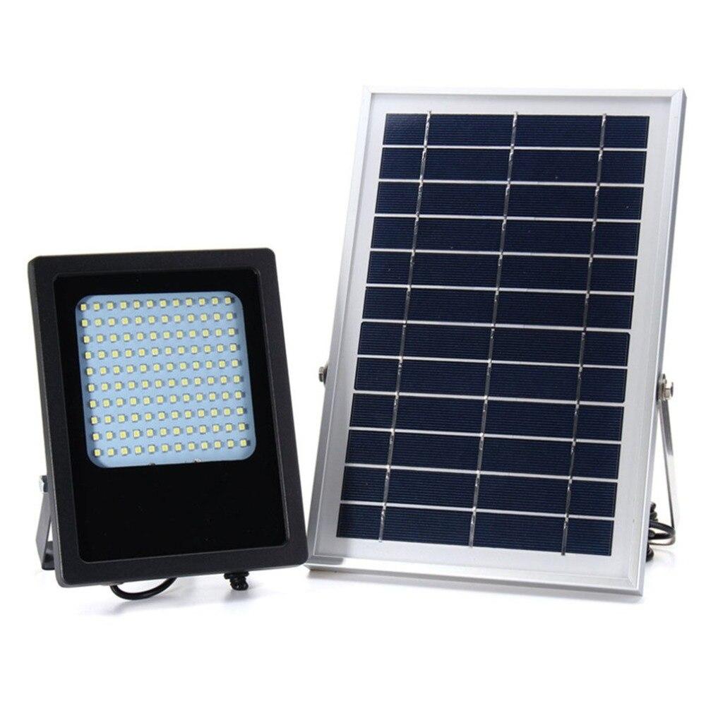 120 LED Super Bright Solar Powered Garden Light Remote Control Courtyard Lamp Street Landscape Flood Light for Outdoor Home цена